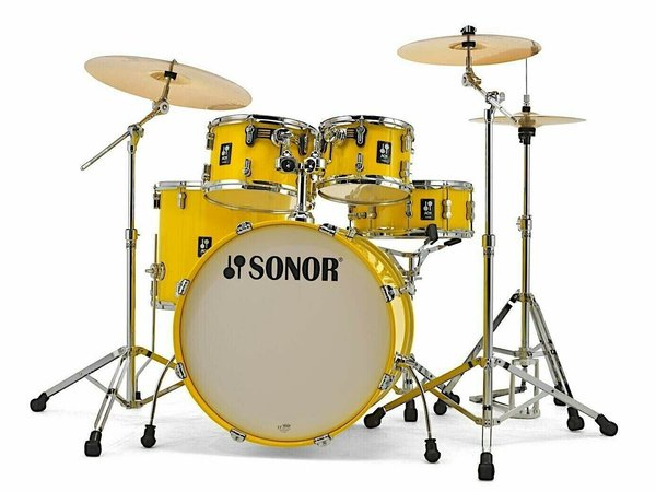 Sonor AQ1 Studio Set YW 17345 Yellow Drumset / Schlagzeug