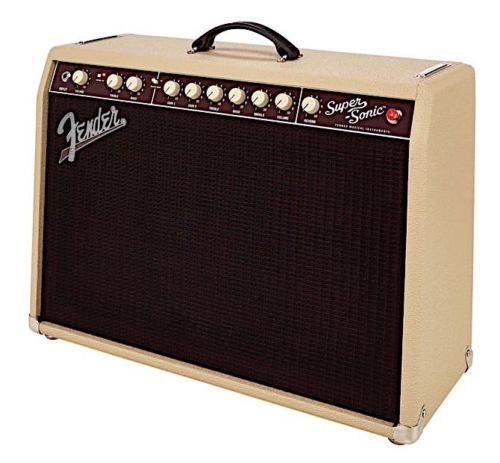 Fender Super-Sonic 22 E-Gitarrencombo blond 216-0006-400