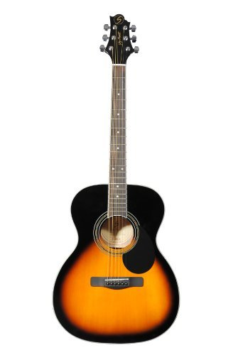 Greg Bennett GD-101S/VS Akustic Guitar, Sunburst