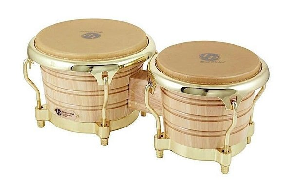 LP Latin Percussion 201AX-2AW Generation II Bongos