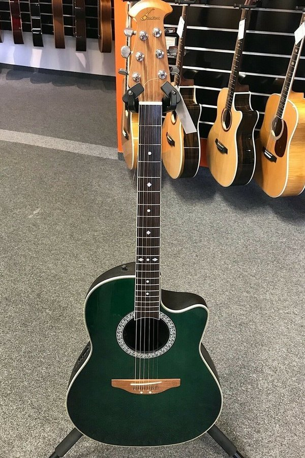 "Ovation Celebrity MDB Solid Top Westerngitarre ""Versandretoure"""