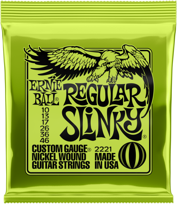 ERNIE BALL Slinky Nickel Regular 10-46